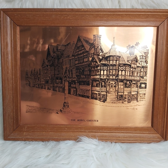 Etchmaster Original Copper The Rows Chester Eng